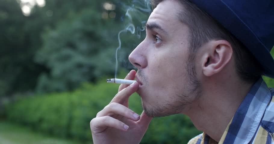 Why do guys smoke cigarettes