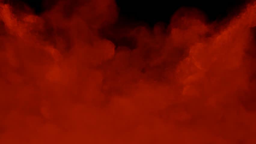Animated Red Toxic Smoke Filling Arkivvideomateriale 100 Royaltyfritt 10952366 Shutterstock