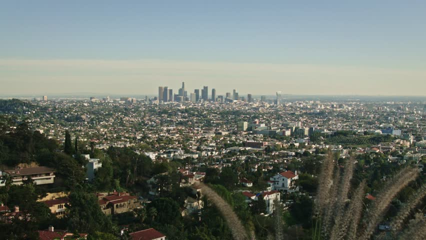 Downtown Los Angeles Extremely Wide Shot   Shutterstock HD Video #10961222