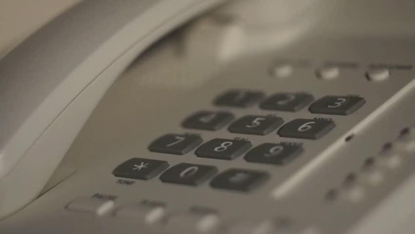 Phone Talk in Hotel | Shutterstock HD Video #10987964