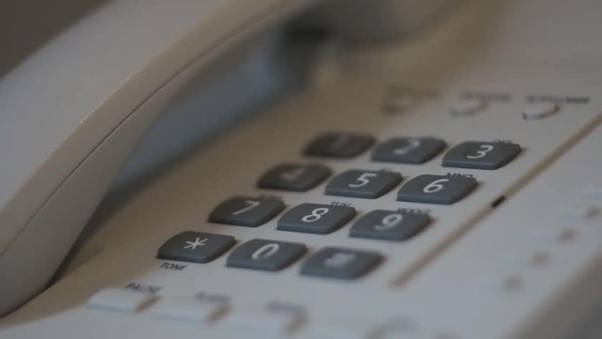 Phone Talk in Hotel | Shutterstock HD Video #10987967