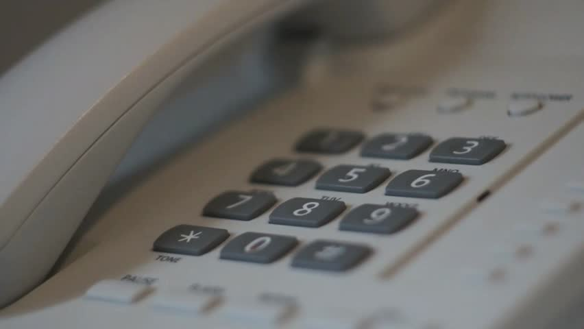 Phone Talk in Hotel | Shutterstock HD Video #10987970