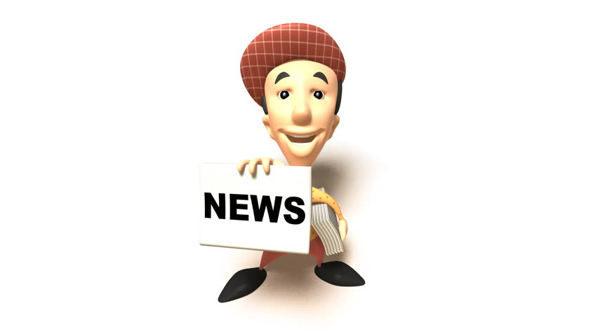Newspaper boy | Shutterstock HD Video #110449