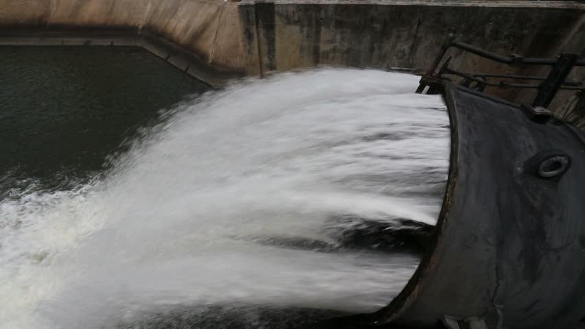 Sluice dam  | Shutterstock HD Video #11081807