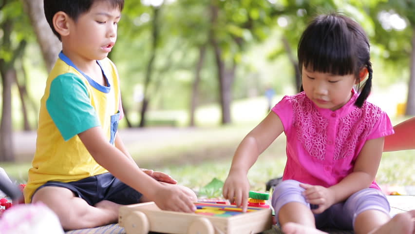 Happy Asian Kids are Playing Stock Footage Video (100% Royalty-free)  11108795   Shutterstock