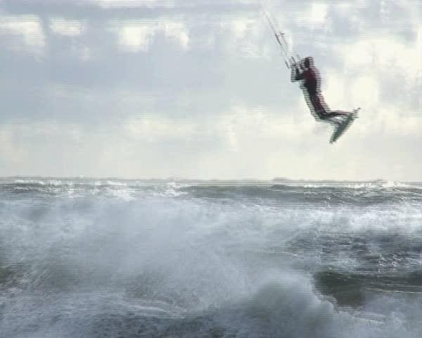 Kiteboarding   Shutterstock HD Video #111448