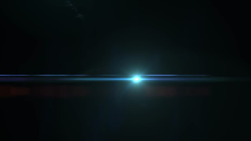 Optical lighting/light flare on a dark background. Great for After Effects just change the mode to screen. #11164103