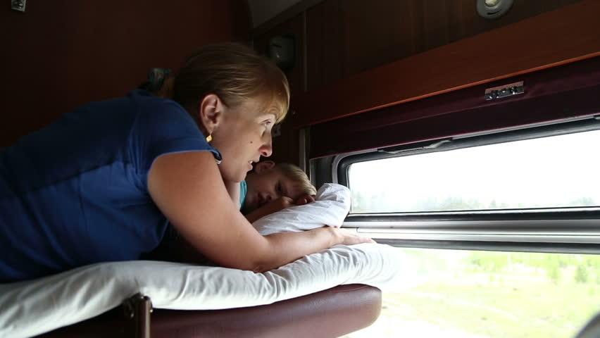 Сын в поезде картинки