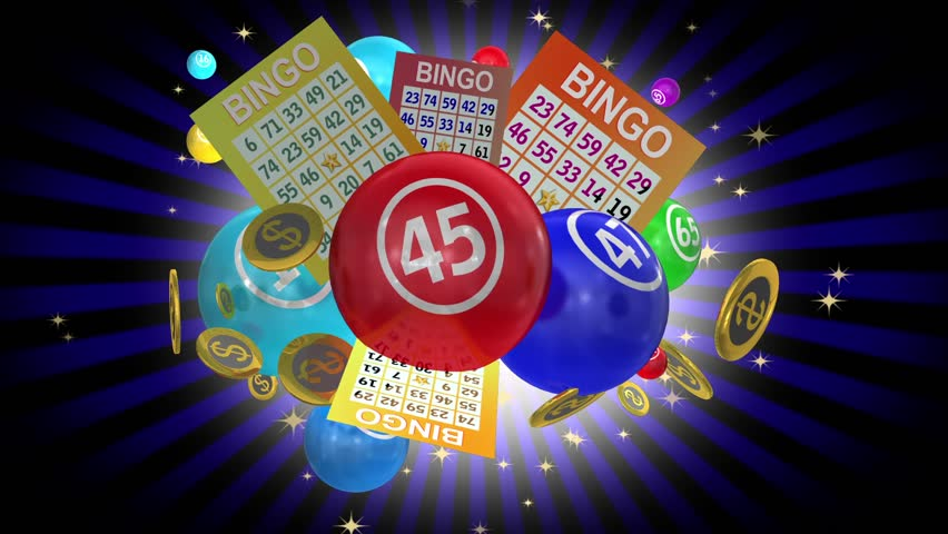 Bingo Balls And Lottery Cards