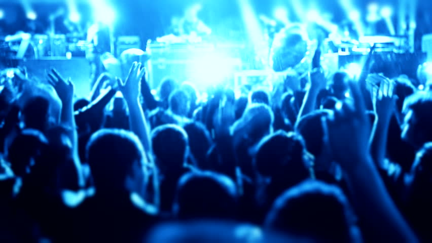Dancing slow motion concert Footage crowd partying dancing crowd partying concert Dancing people with fun gladness social discotheque entertainment Celebration holiday led illumination concert music #11192060