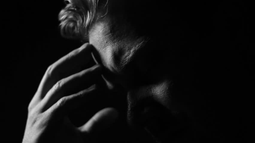 Sad Man with Depression is Arkivvideomateriale (100 % royaltyfritt)  11235980 | Shutterstock
