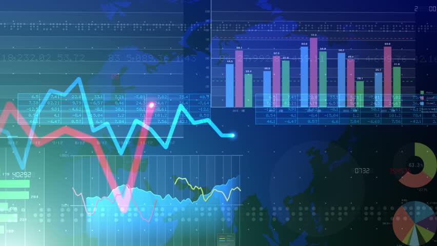 Business Data Graph. | Shutterstock HD Video #11253854