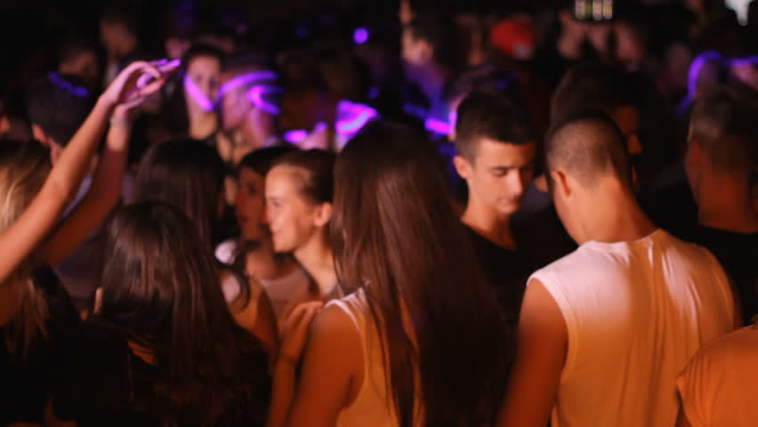 Zrenjanin,Serbia July 31 2015: music party crowd  party,Tracking focus Handheld camera is breathing 1920x1080    Shutterstock HD Video #11261273