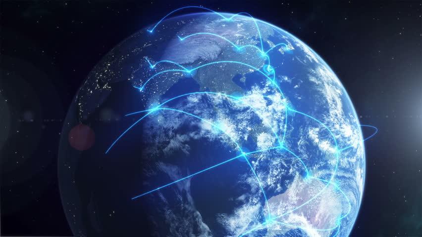Global Network - Blue | Shutterstock HD Video #11326280