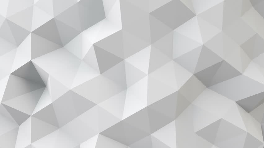 white polygonal geometric surface. computer generated seamless loop abstract motion background. 4k UHD (3840x2160)  #11334422