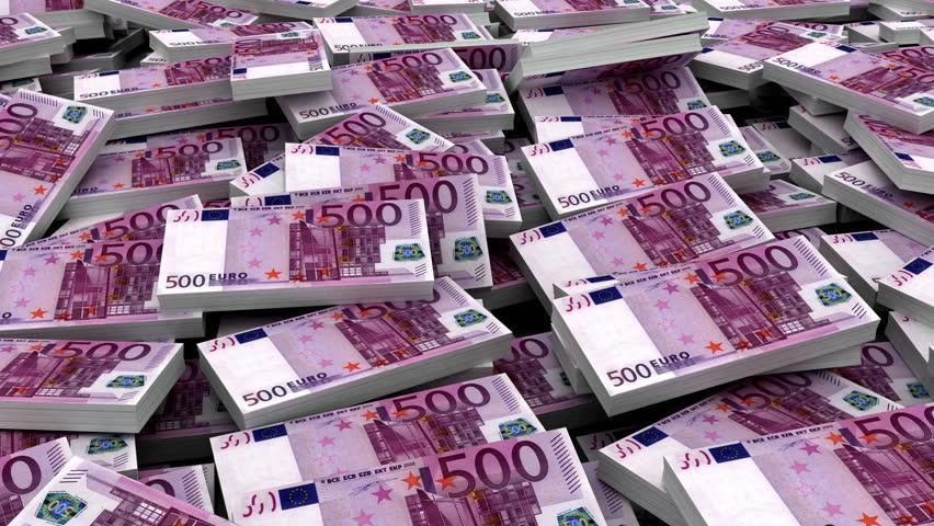 Куча евро картинка