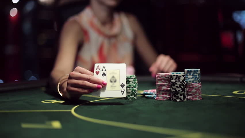 Casino, Poker: African American Woman Stock Footage Video (100%  Royalty-free) 11539592 | Shutterstock