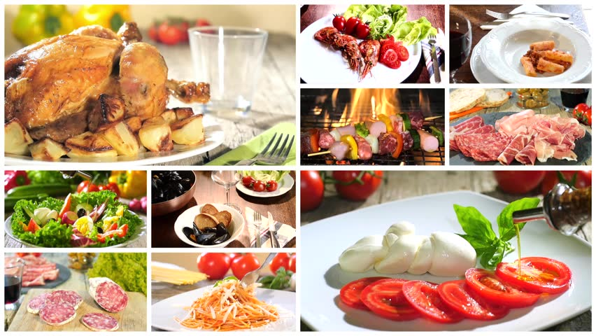 Various Delicious Food Recipes Collage Stock Footage Video 100 Royalty Free 11573237 Shutterstock