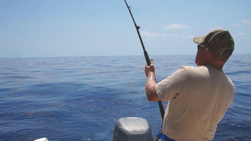 Saltwater fishing in Florida Keys