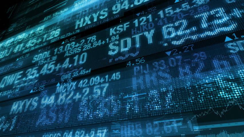 Stock Market Tickers - Digital Data Display Background   Shutterstock HD Video #11625323
