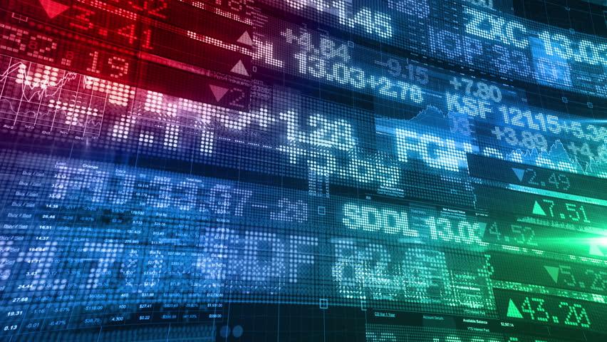 Stock Market Tickers - Digital Data Display Background   Shutterstock HD Video #11625356
