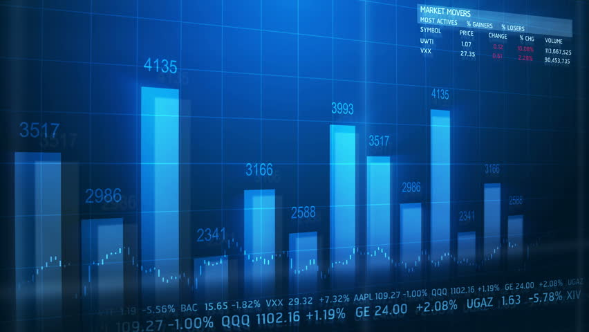 4k World Stock Market Concept Moving Animation Seamless Loop. | Shutterstock HD Video #11632070