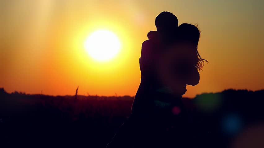 Slowmotion of Silhouette of Happy Stok Videosu (%100 Telifsiz) 11673503    Shutterstock