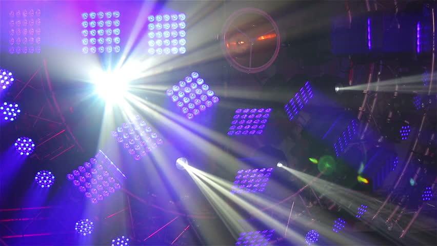Stage light show.   Shutterstock HD Video #11677682