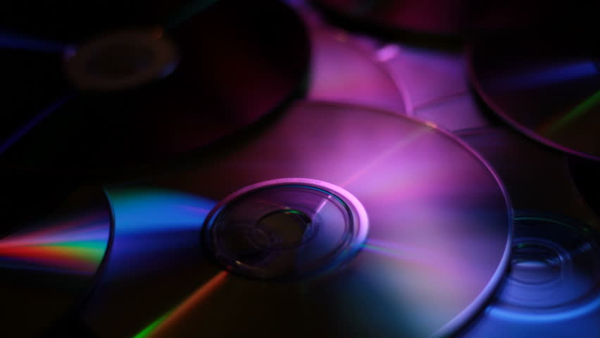 DVD BRDVD CD Media disc reflecting multi colors