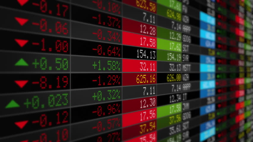 Stock Market Tickers. Black. Zoom out. 3 videos in 1 file. Digital animation of Stock Market prices passing by. Lateral and frontal view with zoom out. More options in my portfolio.   Shutterstock HD Video #11745335