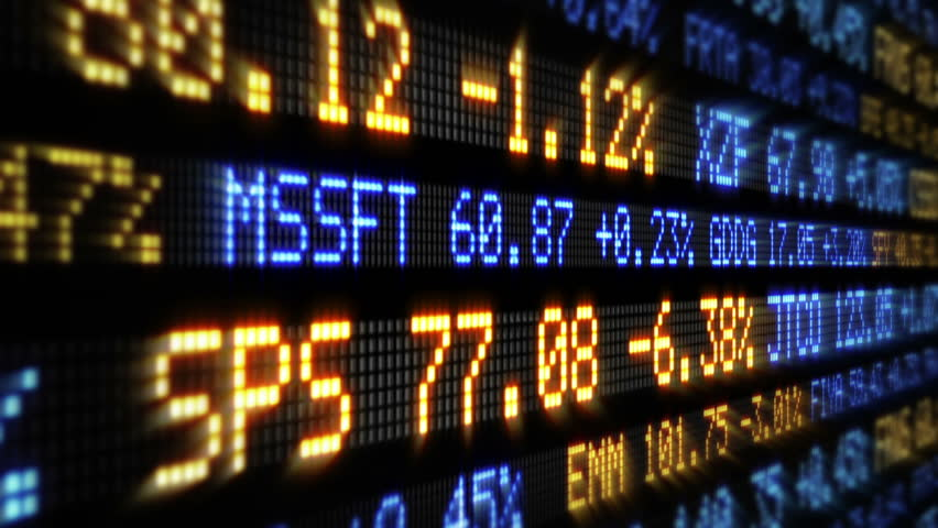 Stock Market Tickers. Loopable. Blue-Orange and Red-Green. 2 videos in 1 file. Digital animation of Stock Market prices passing by. More options in my portfolio. | Shutterstock HD Video #11746079