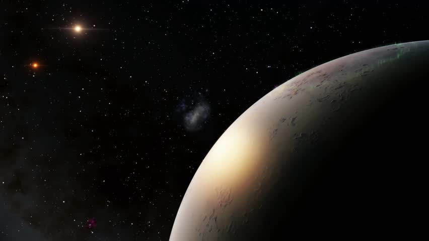 Flying over an unknown planet | Shutterstock HD Video #11762408