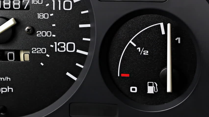 Car Fuel Gauge Going From Stock Footage Video 100 Royalty Free 1184410 Shutterstock