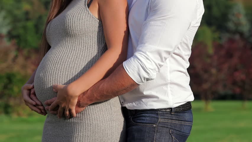 Romantic Moments For Pregnant Couple Stock Footage Video 100 Royalty Free 11844311 Shutterstock