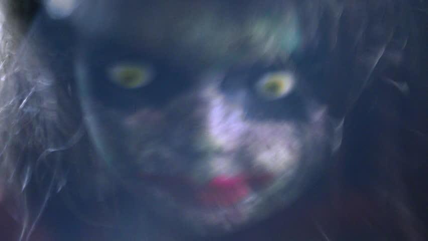 Surreal Dreamlike Vision of Creepy Old Doll