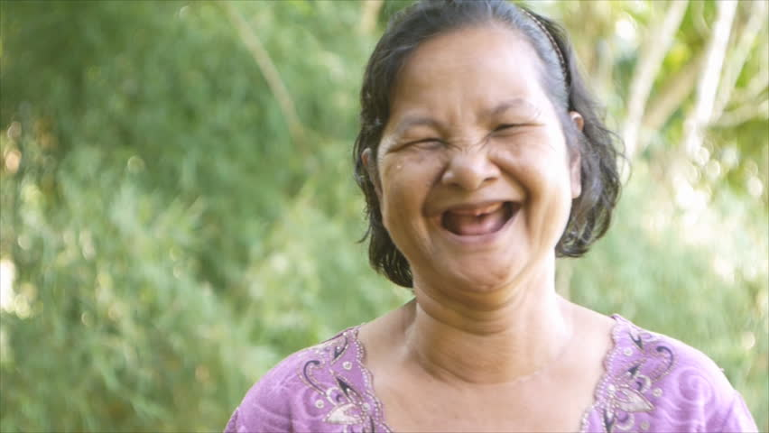 60 Years Old Thai Woman,no Arkivvideomateriale (100 % royaltyfritt ...