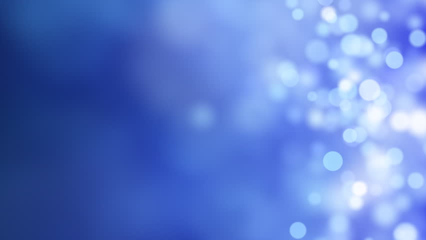 Loopable abstract background blue bokeh circles