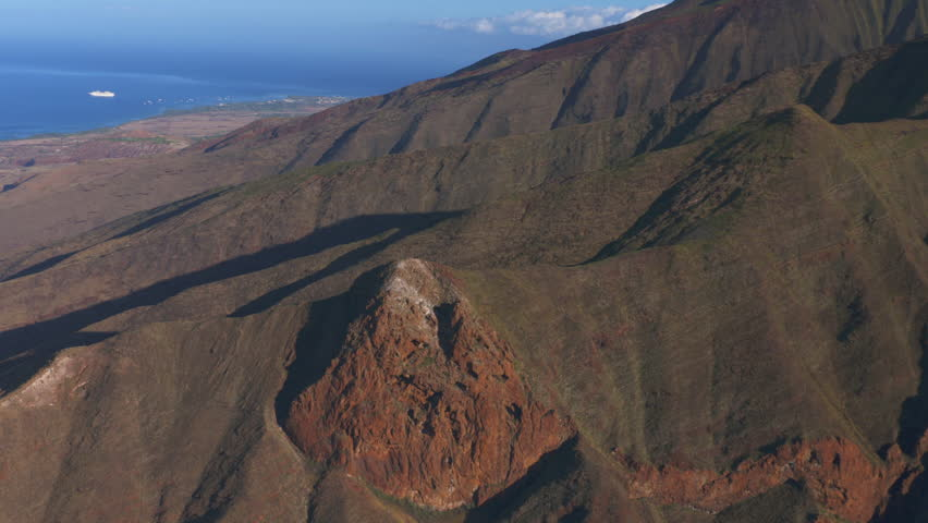 Aerial footage of the Hawaiian mountains | Shutterstock HD Video #11967497