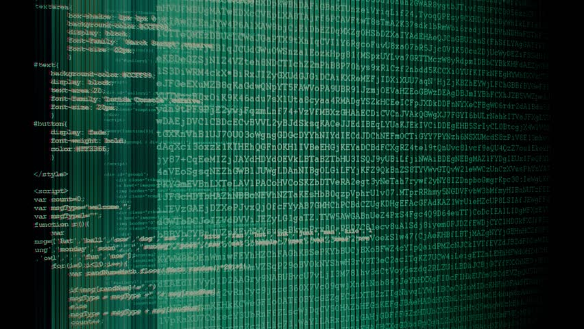 Camera move through pieces of software source code | Shutterstock HD Video #12033437