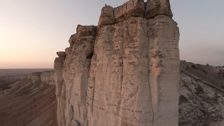 4K / HD Aerial Footage . Crimea. White Rock. Bakhchisarai. Originally shot in 4K on GoPro Hero 4 Black with Protune mode on in 3840x2160 25p   Shutterstock HD Video #12111458