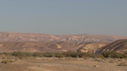 Israel -  4x4 Vehicle Driving through Wilderness