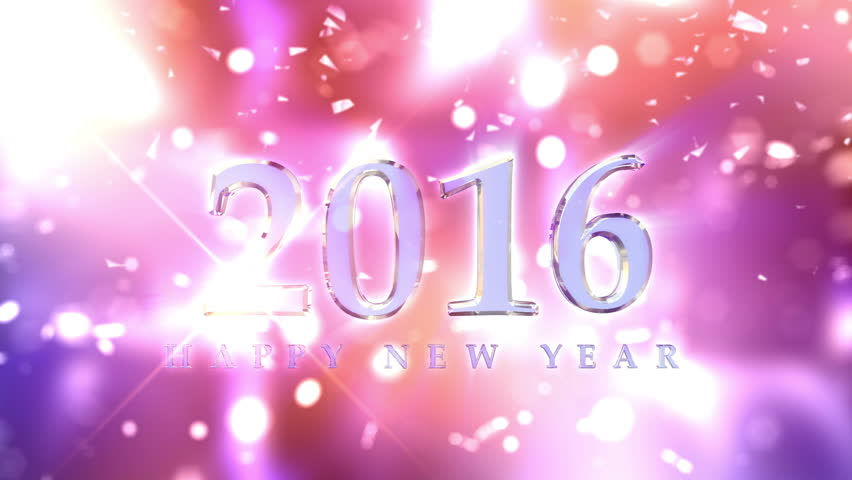 New Year 2016 Countdown Animation. Best for New Year's Eve, friends party, and other event.