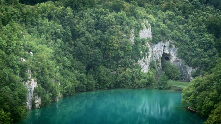 National Park Plitvicka jezera. Europe. 4K   Shutterstock HD Video #12265244