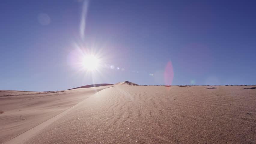 Female Climber Desert Sun Sky Stock Footage Video (100% Royalty-free)  12294302 | Shutterstock