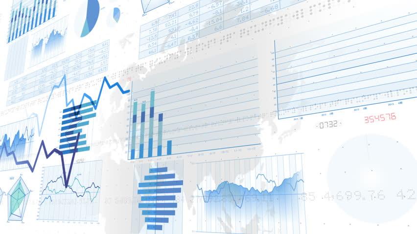 Business Data Graph. | Shutterstock HD Video #12320846