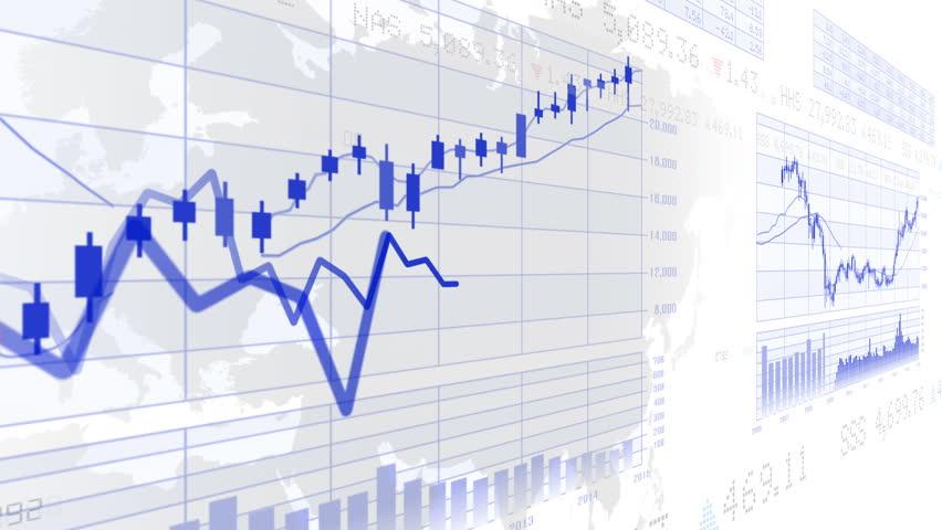 Business Data Graph. | Shutterstock HD Video #12320882
