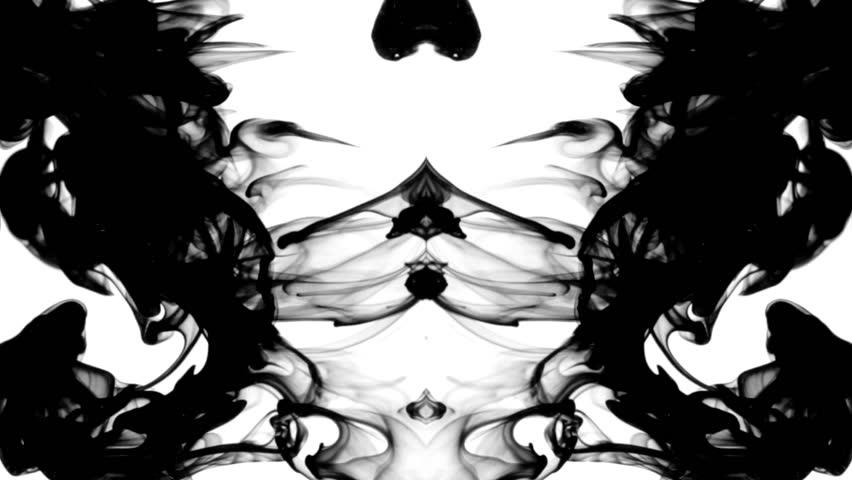 Black Ink Water Leaving Video Clip Hd Footage Bigstock