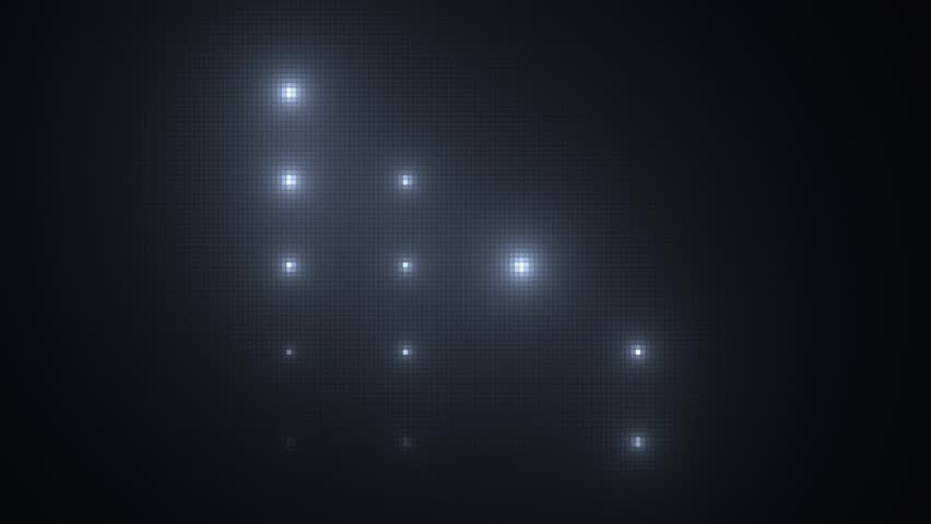 Stage lights background loop animation #12333233