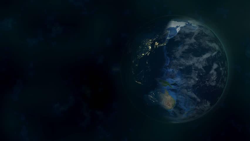Planet Earth Time-Lapse Animation (FULL 4K HD) | Shutterstock HD Video #12347891