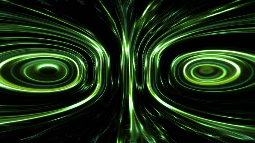 Exotic light effects in a dark background | Shutterstock HD Video #12367655